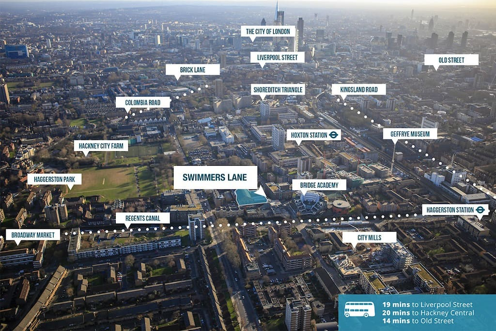 Our area, the Shoreditch Triangle