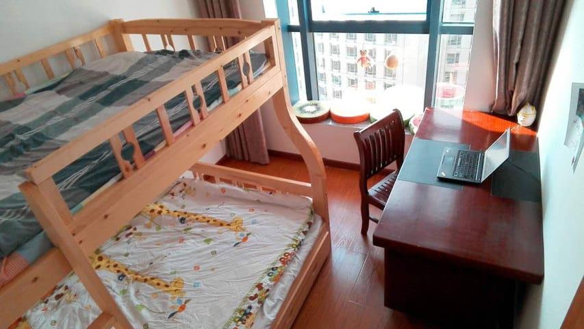 超级市中心,酒店式公寓,super location。安全舒适便捷 - Zhoushan Shi - Wohnung