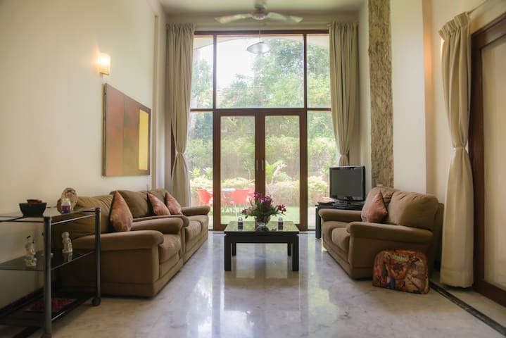 Stunning Large Garden Apartment in Koregaon Park!!