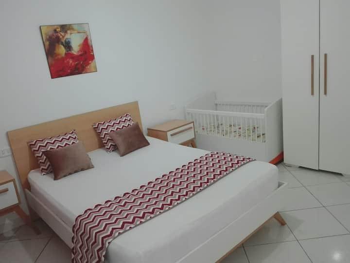 Appartement neuf et lux au centre ville kelibia