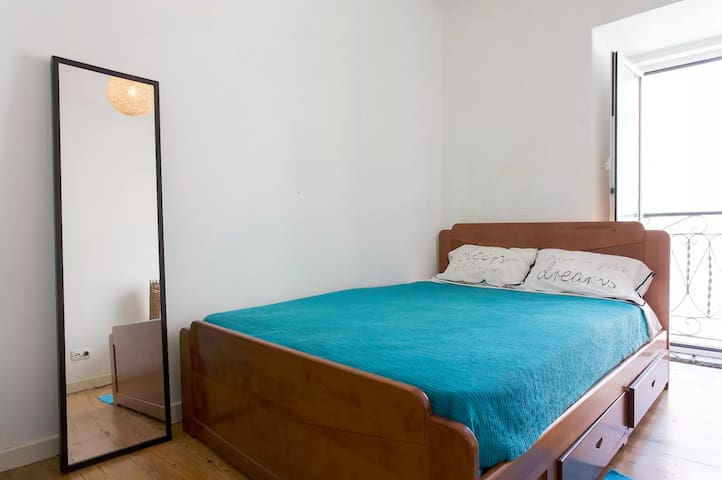 2 confortable rooms in traditional building - Lisboa - Wohnung
