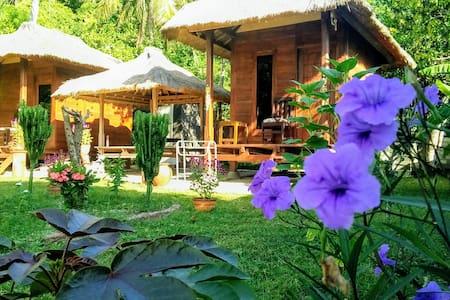 Papaya lodge gili gede simple room n nature island