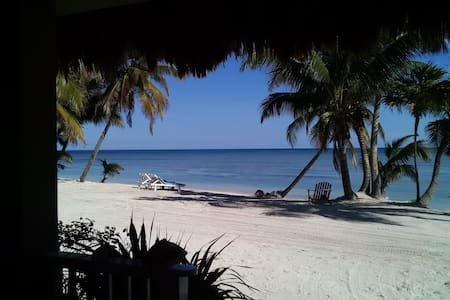 Wonderful beach front home great for a couple - San Pedro