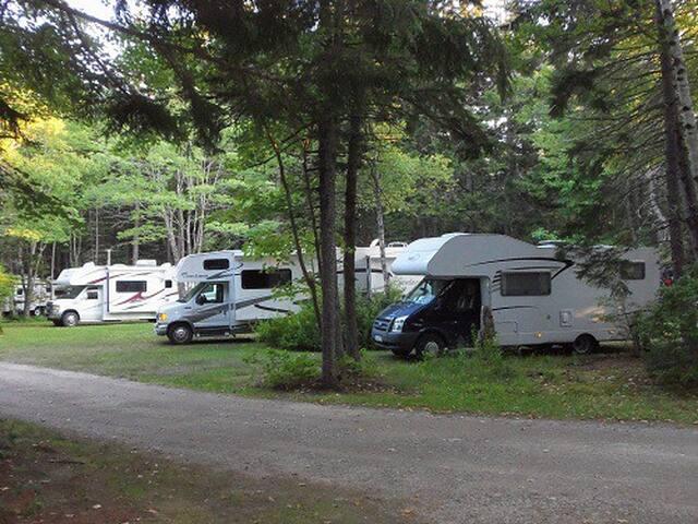punch bowl campervan/motorhome site