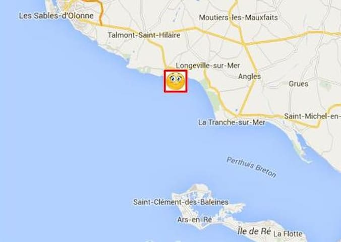 Idéal Vacances en Vendée - Longeville-sur-Mer - Casa