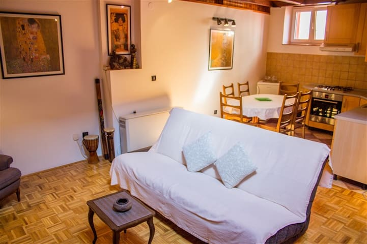 Apartment in the old town of Rovinj with heating