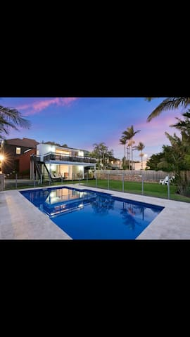 Private and spacious beach side home