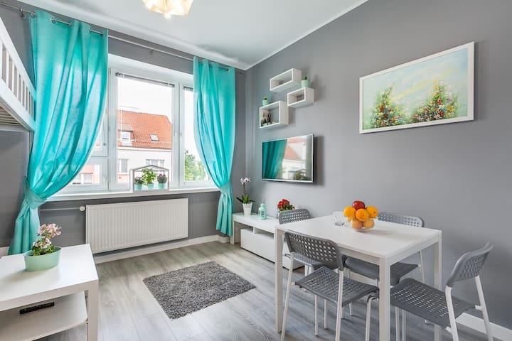 Piękny przytulny apartament 15 min od morza,Gdańsk