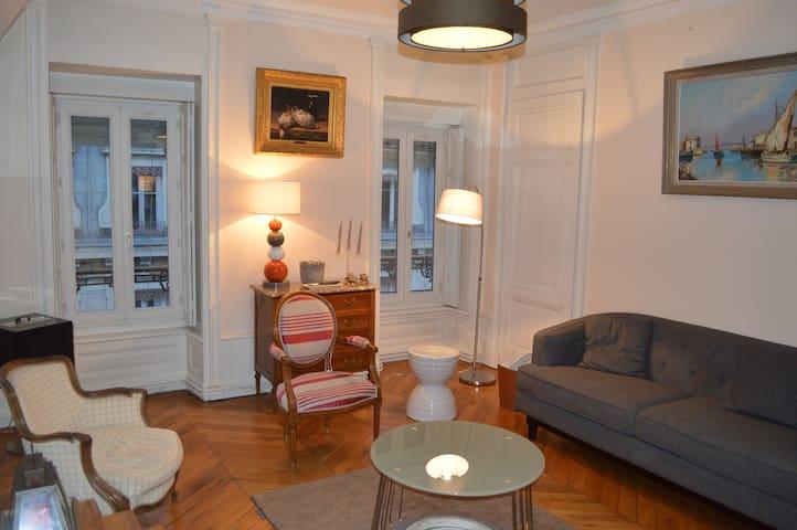 Appartement Lyon Presqu'île (Bellecour-Vieux Lyon)