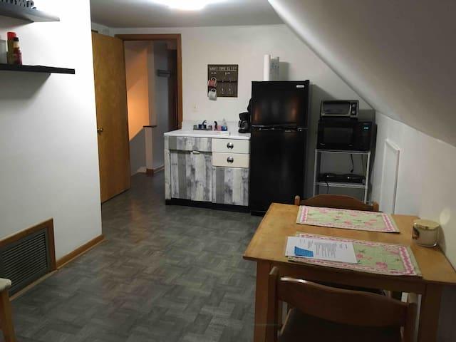 Cozy attic apartment
