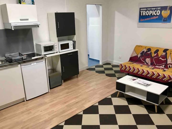 Appartement rénové capacité 2 adultes + 2 enfants