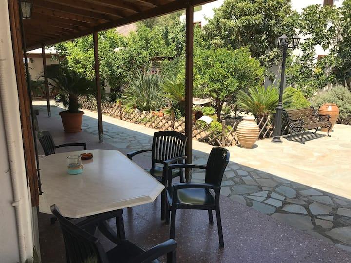 Akti apartment with garden view