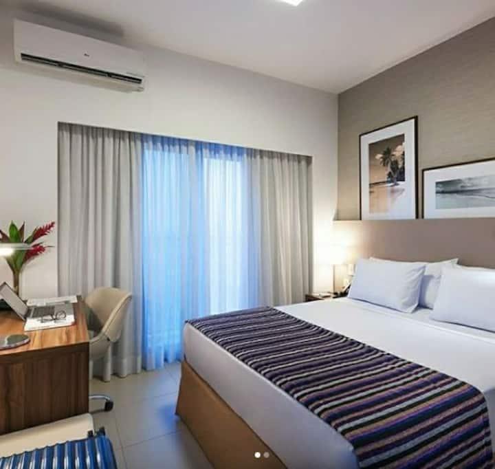 Apartamento no melhor Hotel de Duque de Caxias-RJ