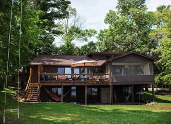 Life is better at The Wapo Lodge on Lake Wapo