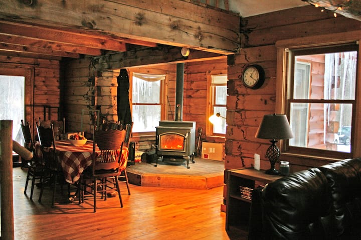 Huge Log Cabin, great for groups - Mexico - Sommerhus/hytte