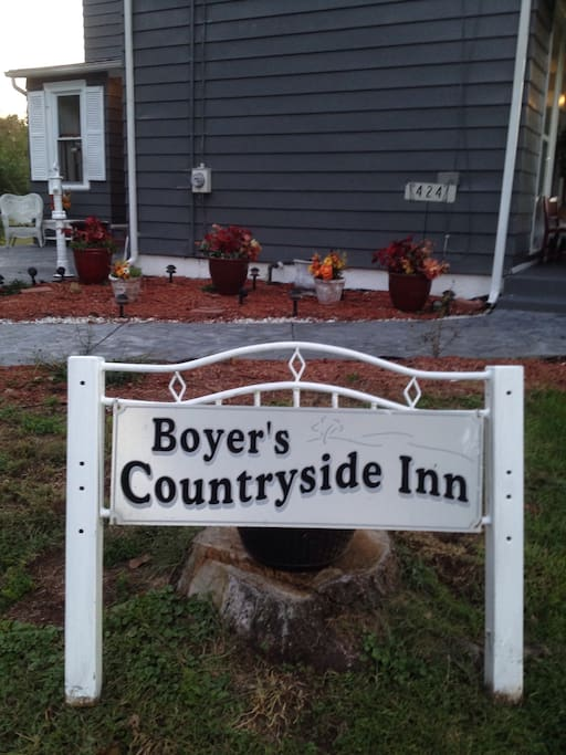 See Www.boyerscountryinn.com for more information