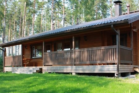 Villa with own beach - Savonlinna