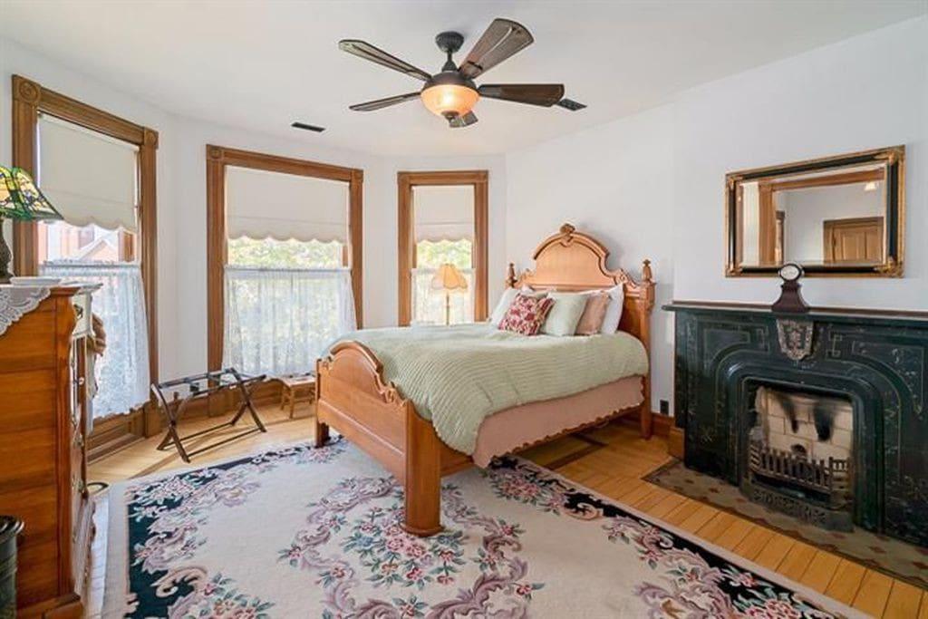 Glazier Suite - Original Master Bedroom!