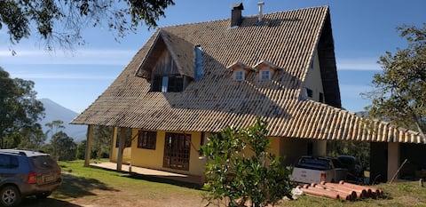Tiquinho do Céu - Mountain House in Itamonte