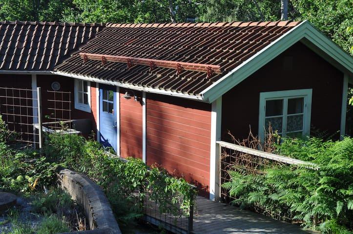 Egen stuga i Stockholms skärgård, nära till allt! - Gustavsberg