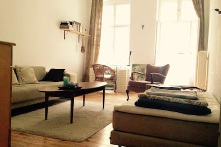 Minimalistic room in an authentic 'Berlin Altbau' - Berlin - Daire