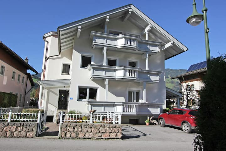 Apartment in Uderns with Balcony, Cot, Heating, Parking