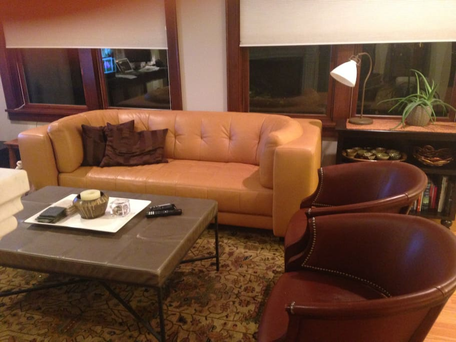 Beautifully furnished living room