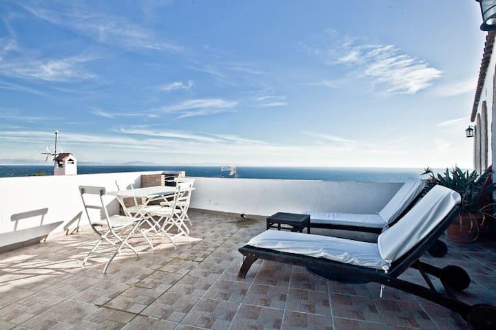 Aprt.con vistas, 300 m de la playa - Tarifa - Apartamento