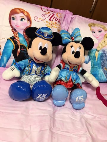 JAPAN Disneyland 東京ディズニーランド シー 7分依依 - 浦安市 - Дом