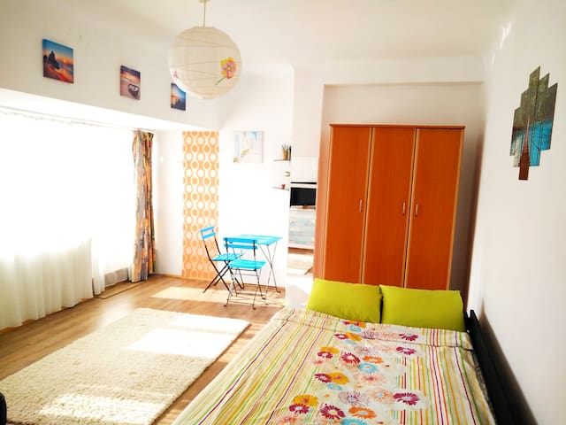 ⭐Studio with large terrace on the top floor⭐