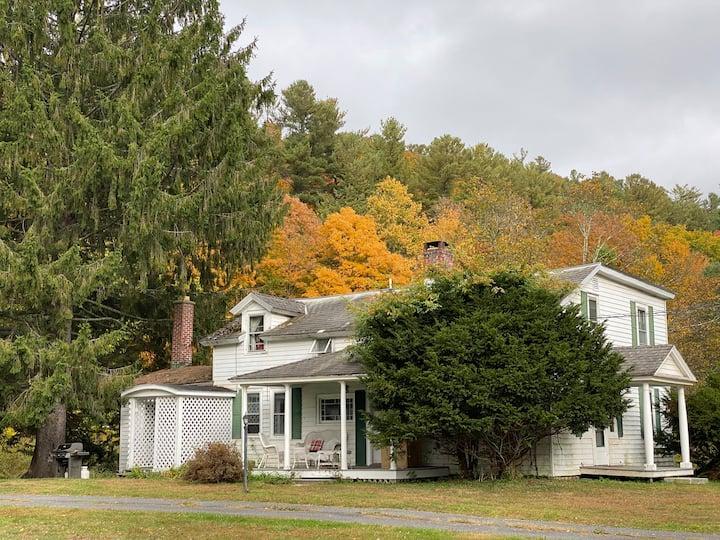 1789 Shaker Farmhouse in Berkshires
