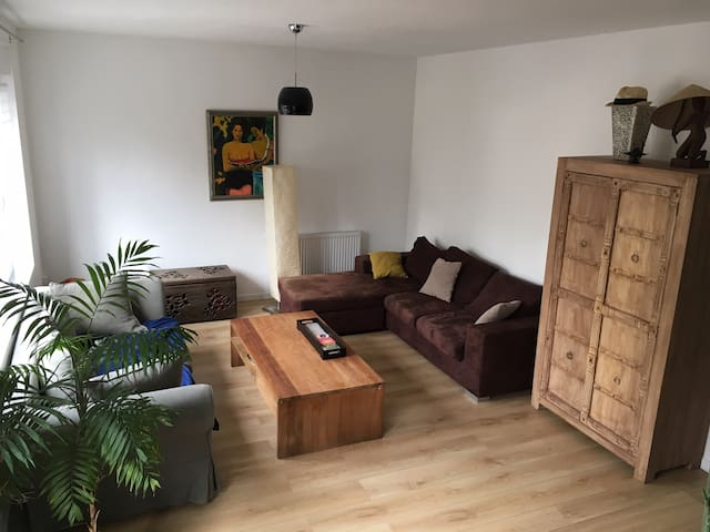 Room in cozy apartment / with garage