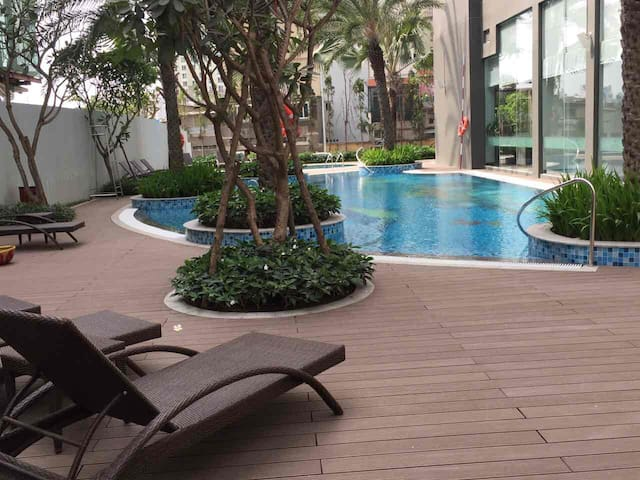 Brandnew relax & quiet condo near River and Park - Bình Thạnh - Daire