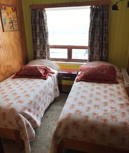 Habitación doble 2 camas Privada, - Puerto natales