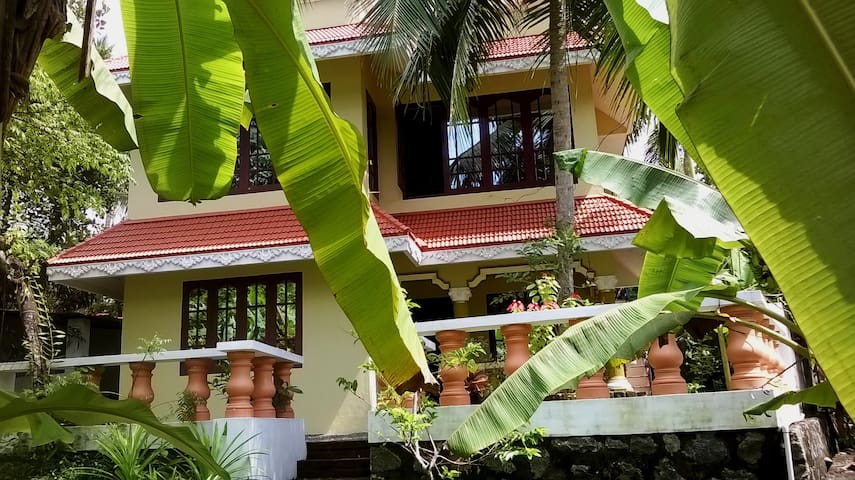 Indra yoga Retreat - Thiruvananthapuram - บ้าน