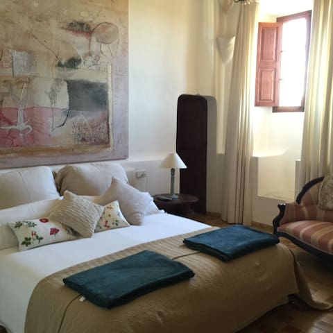 Charming Room in a beautiful Finca - B&B