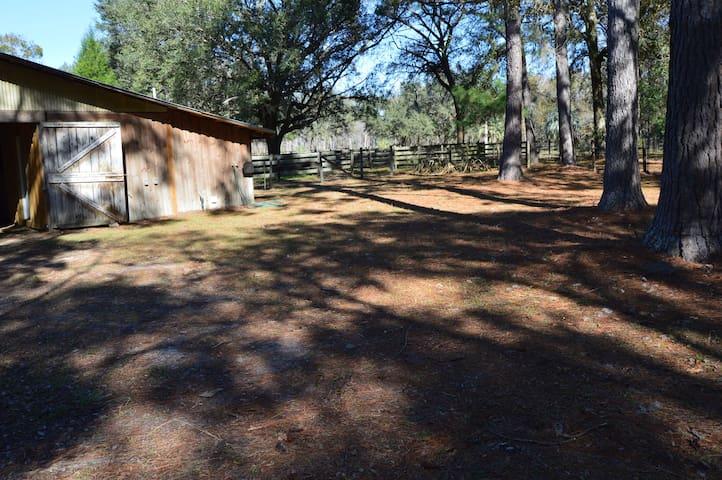 Two deer Lodge camper hook up