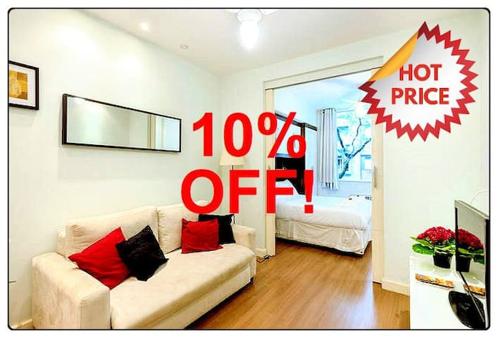 ❤︎10% OFF IN MAY! BEST PLACE TO STAY IN RIO!❤︎ - Río de Janeiro - Apartamento