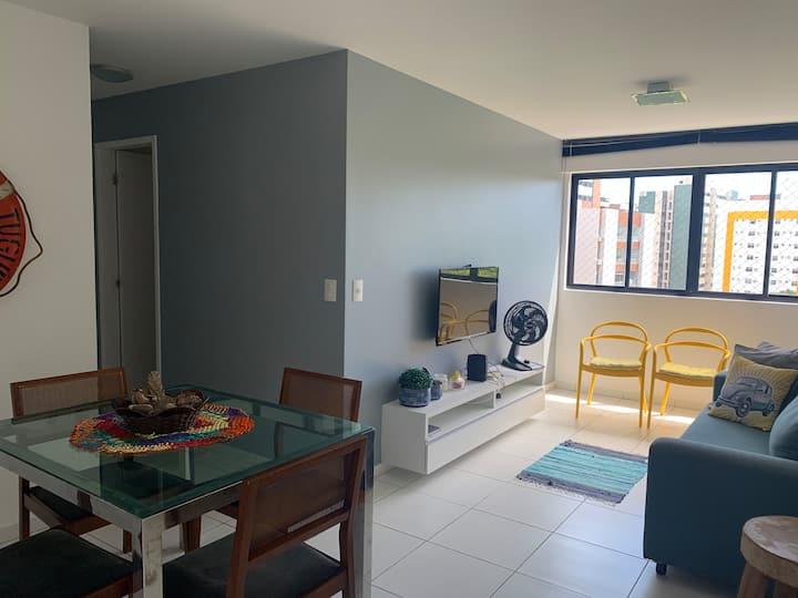 Apart 610 - 2 quartos - Excelente localização