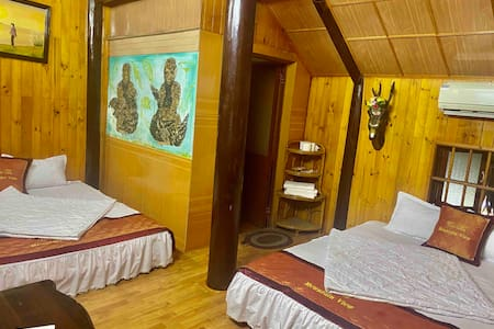 Stilthouse  twin room 201 - Cat Ba Mountain View