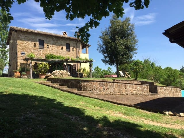 Great Rome countryside villa + pool and guesthouse - Collevecchio - Vila