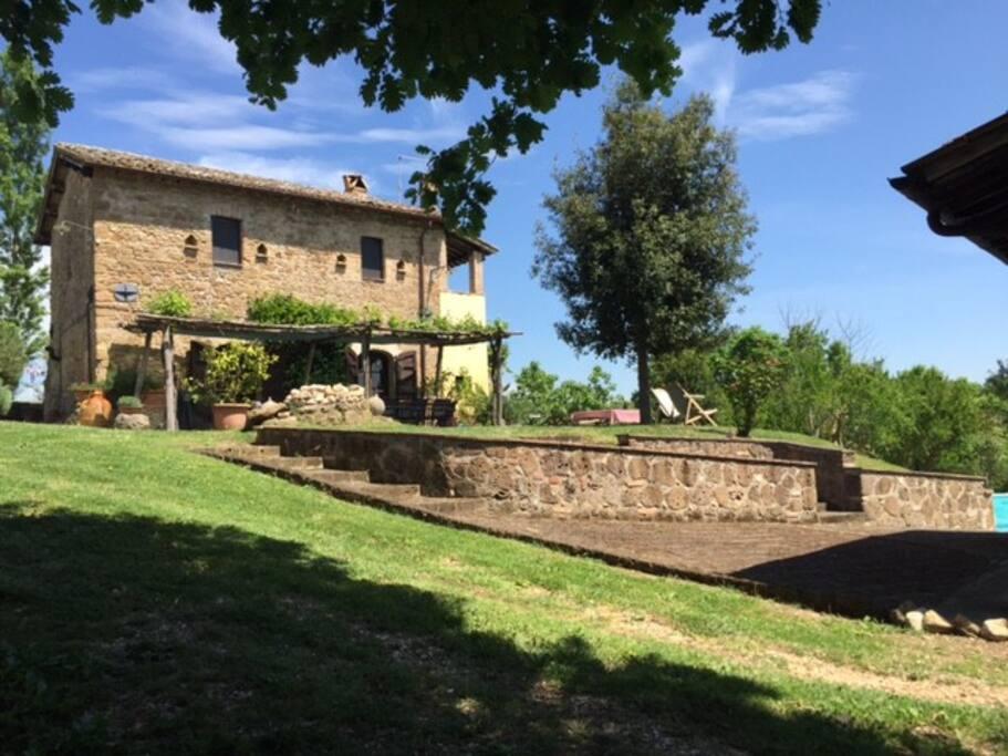 Welcome to Casale Regina (CR) in Collevecchio