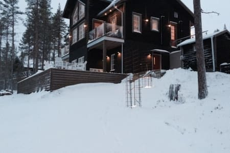Bear lodge in the Swedish nature! - Härjedalen NV - 獨棟