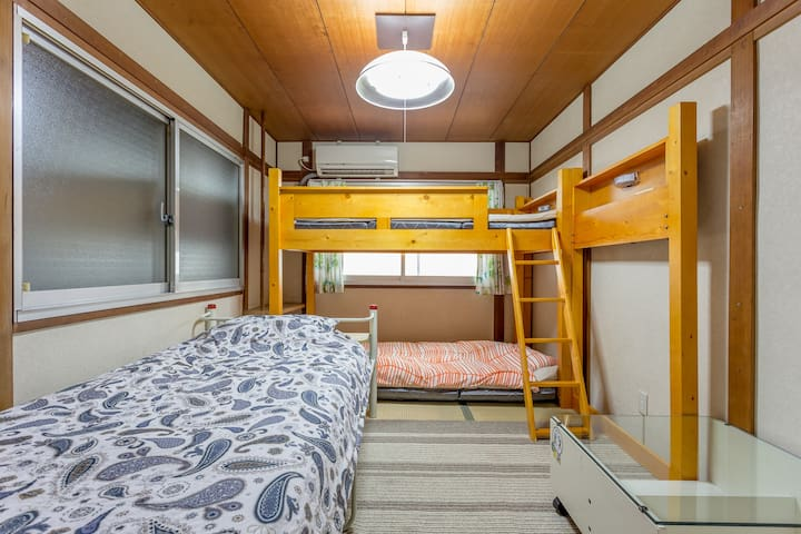3 ppl dorm in Ebisucho - Osaka City - Rumah