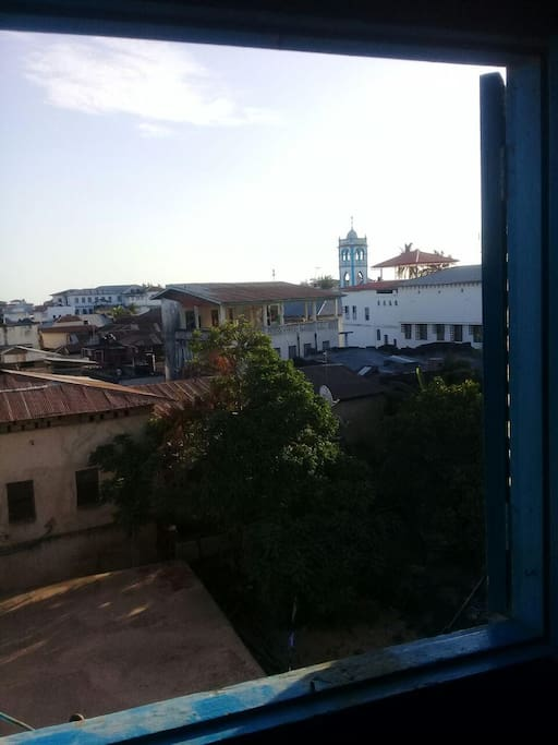 The view out of our window