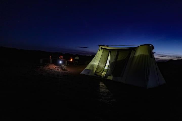 Desert Tortoise Tent 1 - Turtle Butte - EcoTourism