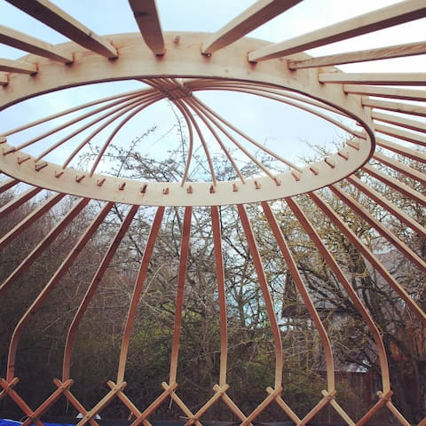 Off Grid, British made 18ft Yurt - Madeley - Iurta
