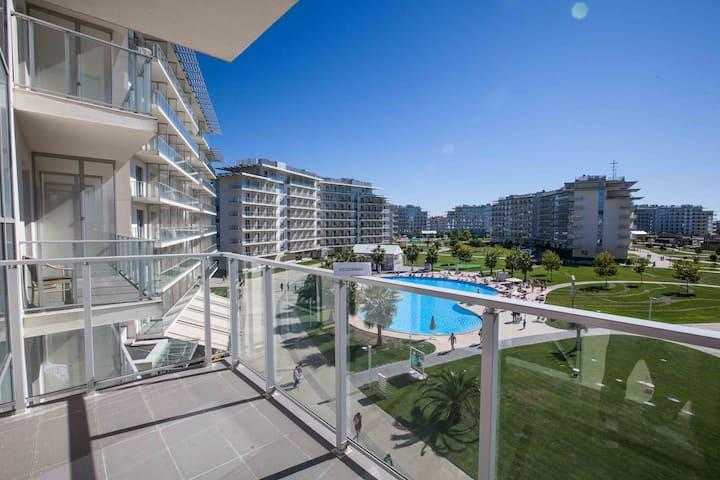 Apartments in the Olympic Park+ breakfast