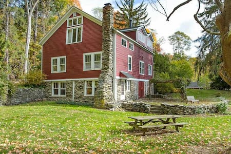 1880 Converted Barn - privacy in Clinton Corners - Clinton Corners - Hus