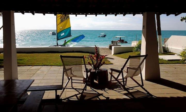 Maison sur la plage de Barra Grande